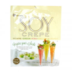 Crepe Soy Wrap para fazer sushi e Temakis - 5 Cores