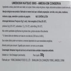 Ameixa Japonesa em Conserva Katsuo Umeboshi - 300g