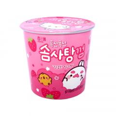 Algodão Doce Coreano Sabor Morango HT CHIC –15 Gramas