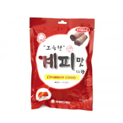 Bala Coreana Sabor Canela Mammos - 120 gramas