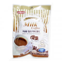 Bala Coreana Premium Sem Açúcar Sabor Café com Leite Melland - 92 gramas