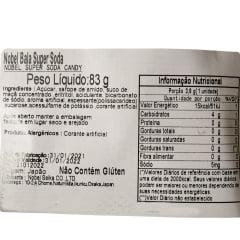 Bala Super Soda Nobel - 84 gramas