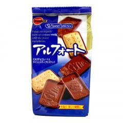 Biscoito com Chocolate Japonês Bourbon Alfort - 110 gramas