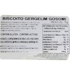 Biscoito Coreano de Gergelim Gosomi Orion - 70 gramas