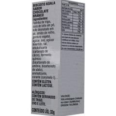 Biscoito Koala com Recheio Chocolate Branco Lotte - 33 gramas