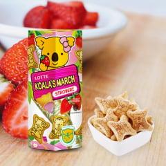 Biscoito Koala com Recheio Morango Lotte - 37 gramas