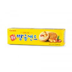 Bolacha Recheada Creme de Amendoim Kukhee Crown  - 70 gramas