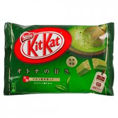 Chocolate Japonês KitKat Chá Verde Matcha 12 unidades – 146,9 gramas