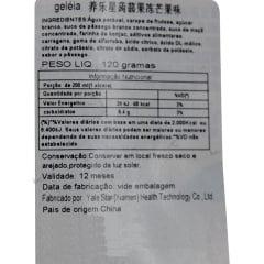 Gelatina de Pêssego Konjac Pronta Yangle Star - 120 Gramas