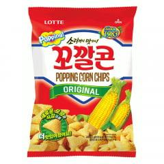 Salgadinho Coreano de Milho Original Popping Corn Chips Lotte - 72 gramas