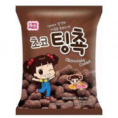Salgadinho de Milho Coreano Sabor Chocolate Cosmos - 62 gramas