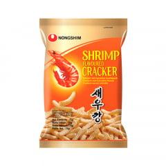 Salgadinho Coreano Camarão -  Shrimp Cracker 75 gramas