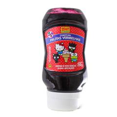 Cobertura sabor Frutas Vermelhas Hello Kitty Kenko - 250 gramas