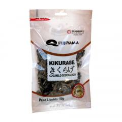 Cogumelo Desidratado Seco Kikurage Funghi - 50 gramas