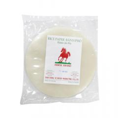 Folha de Arroz (Rice Paper) Harumaki  Horse Brand – 300 gramas