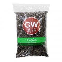 Gergelim Preto Natural Para Sushi GW - 1 kg