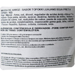 Goodpokki Bolinho de Arroz Coreano Instantâneo sabor Jjajang Soja Preta Topokki Copo - 143 gramas