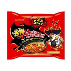 Kit de Lamen Coreano Extreme Spicy 2X Hot Chicken Flavor Ramen 140g - 5 Pacotes