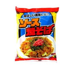 Kit Macarrão Instantâneo Japonês Sunaoshi para Yakisoba com Tempero - 5 pacotes