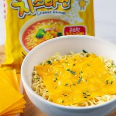 Lamen Coreano Picante Sabor Queijo Cheese Ramen in Soup Ottogi Copo - 62 gramas