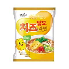 Lamen Coreano Sabor Queijo Cheese Ramyun Paldo - 111 gramas