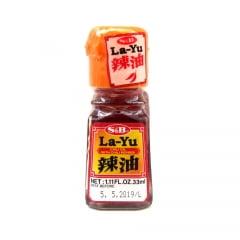 Layu Óleo de Gergelim com Pimenta Chili - 33 mL
