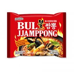 Lamen Coreano Bul Jjamppong Frutos do Mar Picante Paldo - 139 gramas