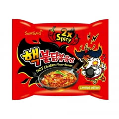 Lamen Coreano Extreme Spicy 2X Hot Chicken Flavor Ramen - 140g