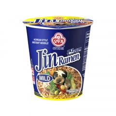 Lamen Coreano Mild Jin Ramen Ottogi Vegetais Copo - 65 gramas