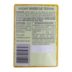 Molho Barbecue Teriyaki Blue Dragon Sakura - 233 gramas