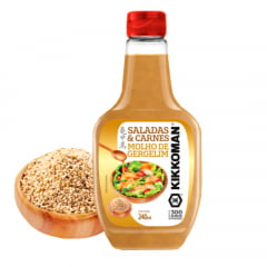 Molho de Gergelim para Saladas e Carnes Kikkoman - 240 mL