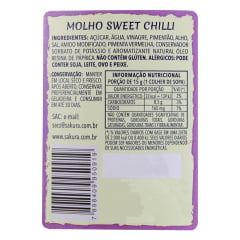Molho Agridoce com Pimenta Sweet Chilli Blue Dragon Sakura - 220 gramas