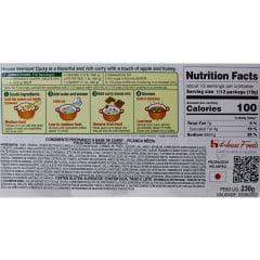 Tempero pronto Curry Chukara com Sabor Picante nível Médio Vermont - 230 gramas