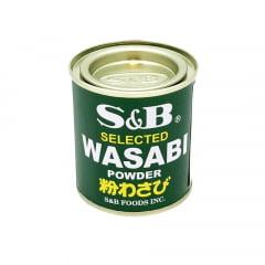 Pimenta Japonesa Wasabi em Pó (Raiz Forte) S&B - 30g