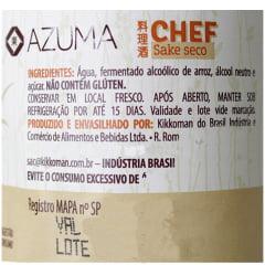 Saquê Culinário Chef Azuma Kirin - 970 mL