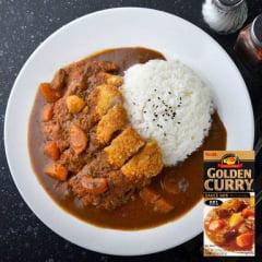 Tempero Golden Curry com Sabor Picante nível Forte S&B - 92 gramas
