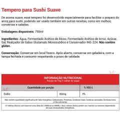 Tempero para Sushi Kenko - 750 mL