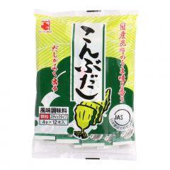 Tempero Pronto para Sushi Kombu Dashi – 12 sachês x 04 gramas
