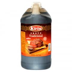 Molho de Soja Shoyu Tradicional Kirin Fermentação Natural - 5 L