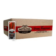 Molho Shoyu Premium Sachê Mitsuwa 8 ml - 250 unidades