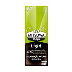 Molho Shoyu Light Sachê Mitsuwa 8 ml - 250 unidades