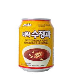 Bebida Coreana Adocicada de Canela Sujeonggwa Paldo - 238mL