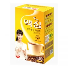 Café Pronto Solúvel Coffee Maxim Coreano Mocha Gold - 100 Sachês