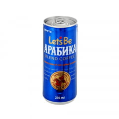 Café com Leite Lets Be Arabica Blend  Lotte - 235mL