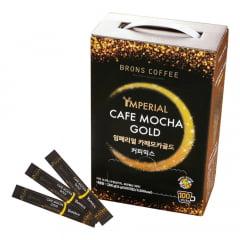 Café Pronto Solúvel Mocha Gold Imperial Brons Coffee - 100 Sachês