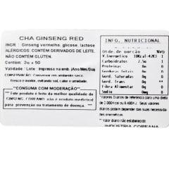 Korean Red Ginseng Tea Gold - 50 sachês