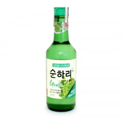 Soju Importado Chum-Churum Lotte Sabor Uva - 360mL