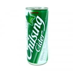Bebida Gaseificada Sabor Limão Chilsung Cider Lotte - 250mL