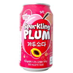 Refrigerante Coreano Sabor Ameixa Nutriton & Taste - 350mL