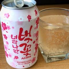 Refrigerante Coreano Flor de Cerejeira - 350mL